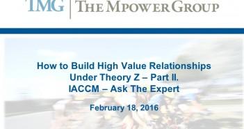 high value relationships